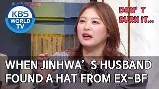 When Jinhwa's husband found the hat from her ex boyfriend [Happy Together/2020.02.20]