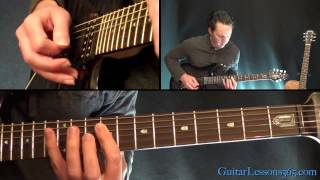 Rock and Roll All Nite Guitar Lesson Pt.1 - Kiss - Chords