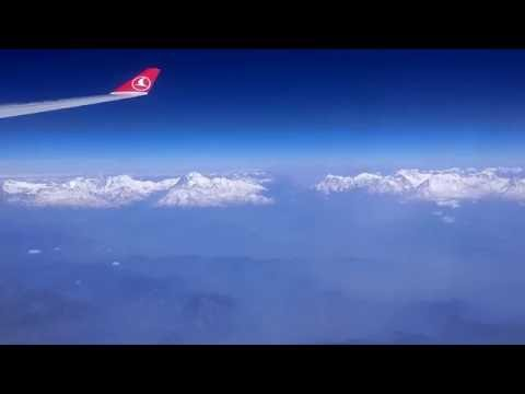 Complete Taxi, rough Takeoff and Climb from Kathmandu, Nepal