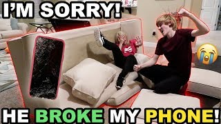 HE FOUND OUT.. AND HE'S SO MAD!! (Promise broken)