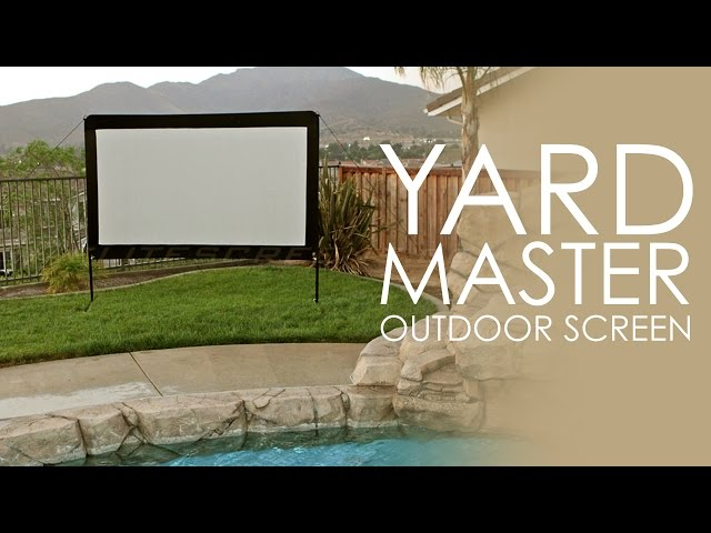 Elite Screens Yard Master Series