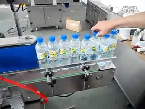 500ml Bottles Automatic Labeling Machine For Mineral Water Labeller