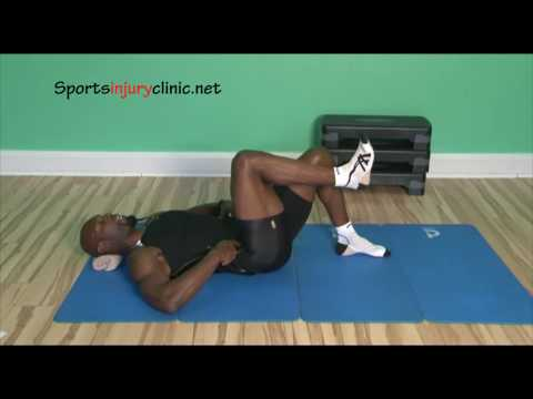 Single Leg Tabletop Pilates Exercise