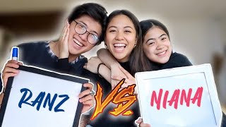 Who Knows Me BETTER?! (Ranz vs Niana)