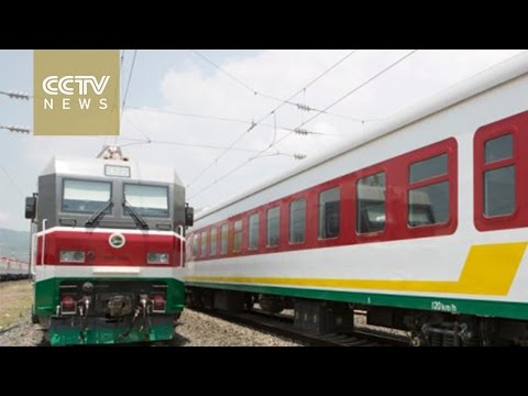 Chinese-built railway to boost African trade