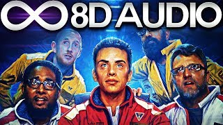 Logic - Stainless feat. Dria 🔊8D AUDIO🔊