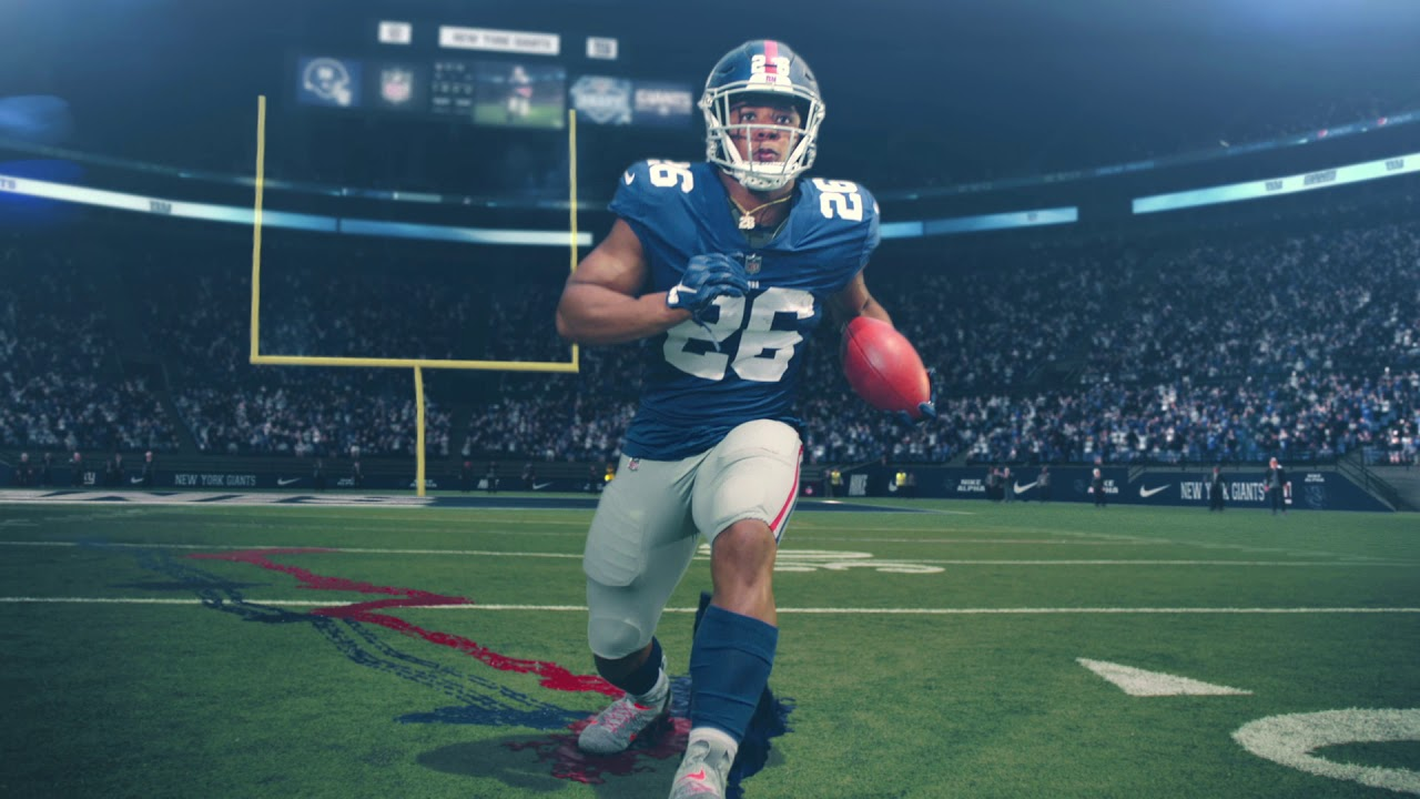 promo code 24e07 e13a5 Watch: Odell Beckham Jr., Saquon Barkley + More Star In ...