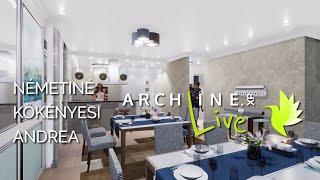 Apartment Restaurant project - ARCHLine.XP LIVE