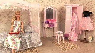 Barbie Chambre Routine du Matin Barbie Bedroom Morning Routine thumbnail