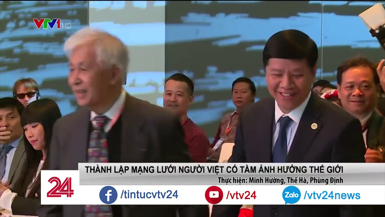 200 người Việt tập trung về Paris hiến kế xây dựng Việt Nam | VTV24