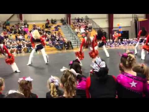 Denver Bronco Cheerleaders Performance