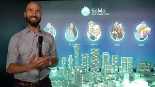 SoMo: Social Mobility App for Smart Group Ride Shares #CES2019