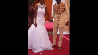 Larry Madowo's wedding