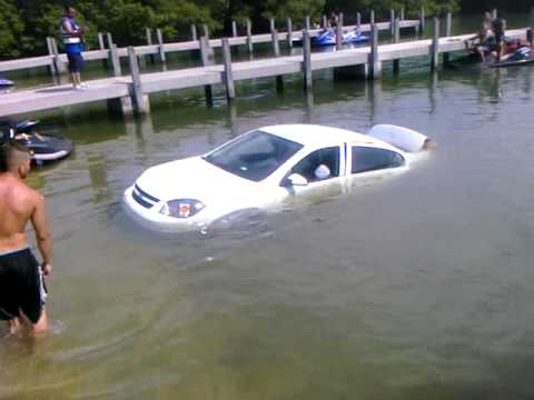 Jet Ski Ramp Gone Bad Car Sunk
