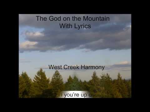 The God on the Mountain with Lyrics Final