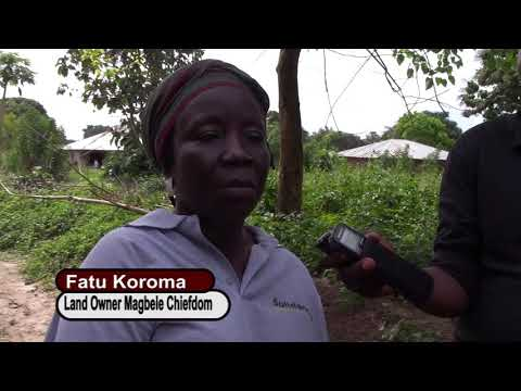 LAND DISPUTES IN ZIMMI, SIERRA LEONE RESOLVED BY SOLIDARIDAD