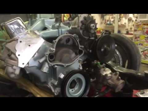 how to do a 1967 gto water pump
