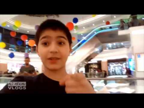 علي اركان   بدقيقة في مول بغداد One minute in Baghdad Mall