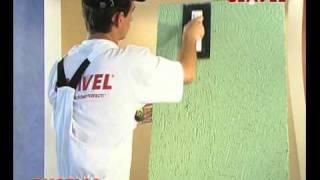 Нанесение фасадной штукатурки РУСТИКА. Видео(Все декоративные покрытия на сайте CLAVEL-SPB.RU., 2010-10-29T09:20:22.000Z)