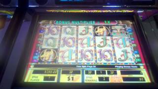 Cleopatra II High limit slot machine bonus HUGE WIN