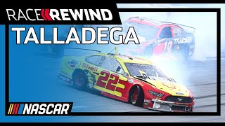 Big wrecks dampen playoff hopes at Talladega | NASCAR at Talladega Superspeedway | Race Rewind