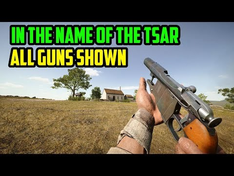 All Guns Shown - Battlefield 1: In The Name Of The Tsar DLC