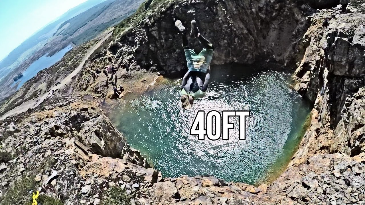 Cliff jumping up a mountain ? - Scotland
