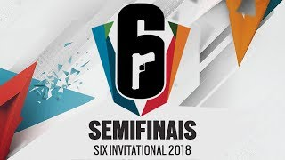 [SEMIFINAIS] Six Invitational 2018 | Playoffs | AO VIVO - Rainbow Six Siege