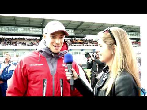 e2 tv im Interview mit Edoardo Mortara