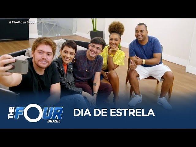 Finalistas do The Four Brasil cantam ao lado de Dudu Nobre