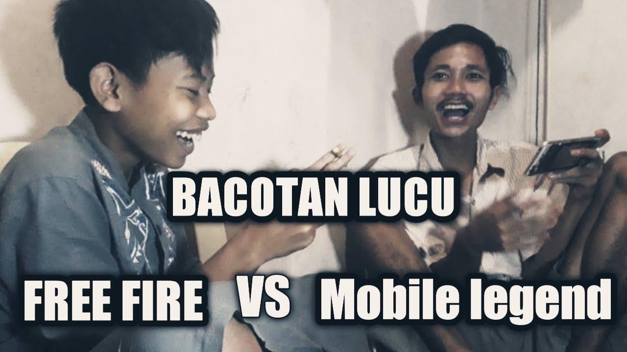 STORY WA BACOTAN Player ML VS FF Kocak Bikin Ngakak Bahasa Sunda