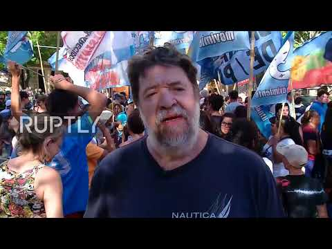 Argentina: Mass protest against WTO brings Buenos Aires to standstill