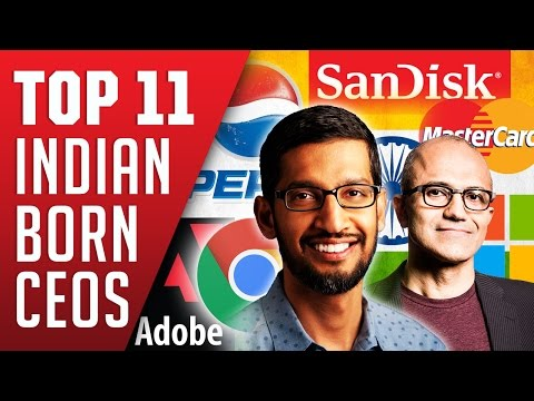 Top Indian Born Ceos ruling the Tech Industry
