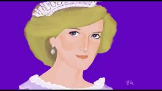 Speed Painting (Princess Diana)