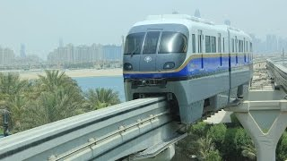 Dubai monorai: Palm Jumeirah cabride