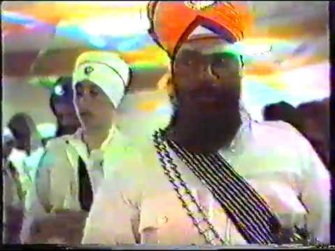 1st Amrit Sanchar in New Zealand 1987
