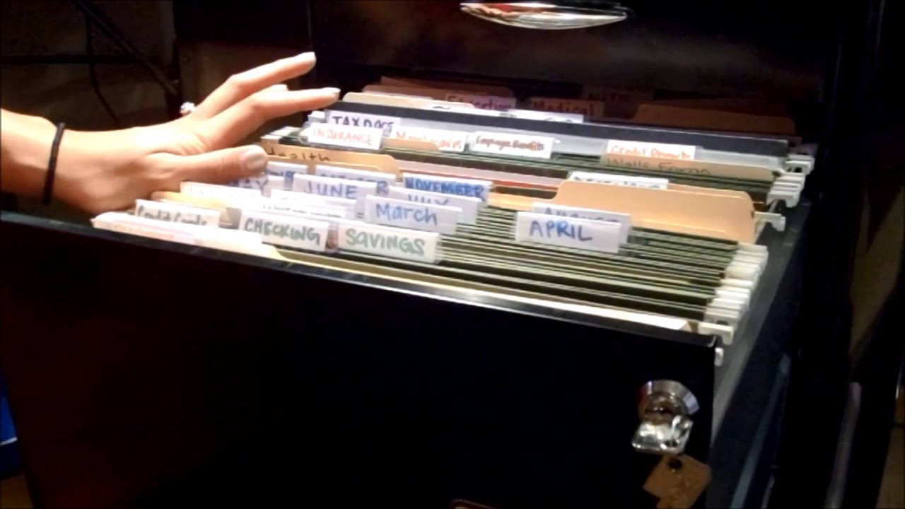 DIY FREEDOM FILER SYSTEM! Filing Cabinet Organization - YouTube