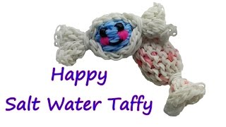 Happy Salt Water Taffy Tutorial by feelinspiffy (Rainbow Loom)