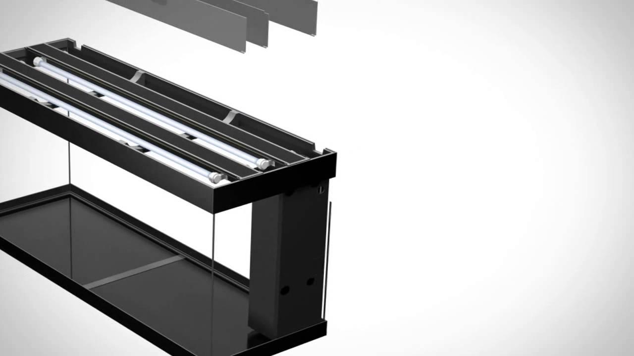 akv rium juwel rio 400 prezenta n video youtube. Black Bedroom Furniture Sets. Home Design Ideas