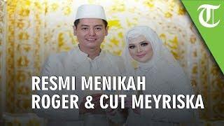 Foto Foto Pernikahan Roger Danuarta Dan Cut Meyriska