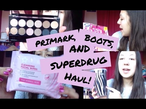 Primark, Boots and Superdrug haul! | xVintageRosesx