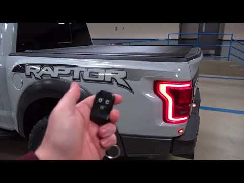2017 F 150 Raptor Grill Led Light Bar Custom Accessories 17 2018 18 Ford Offroad Youtube