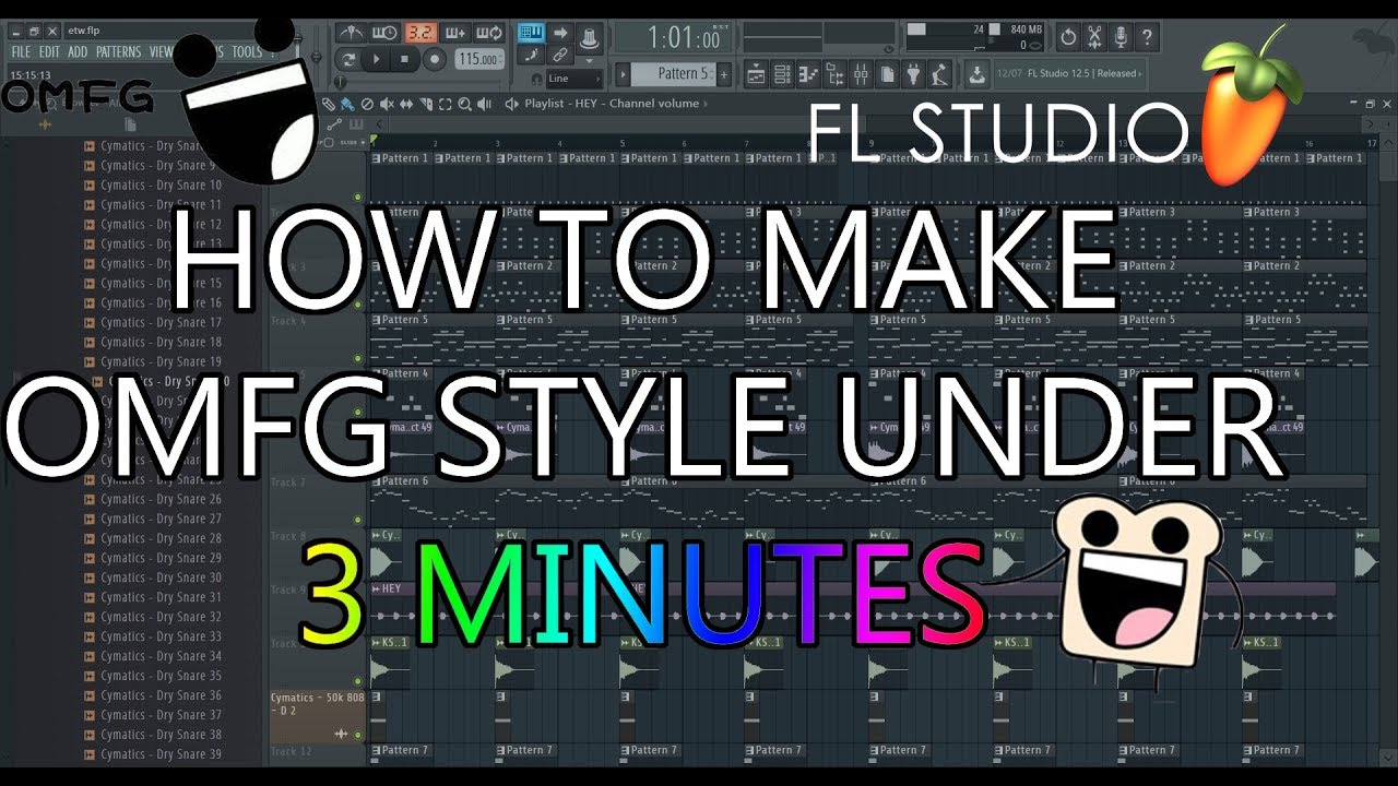 How to make an OMFG style under 3 minutes!