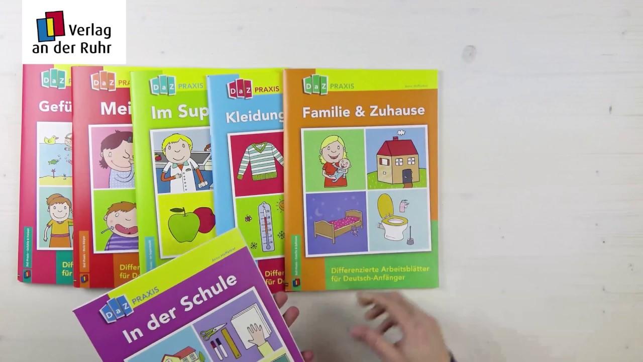 Differenzierte Arbeitsblätter für Deutsch-Anfänger: Gefühle und ...