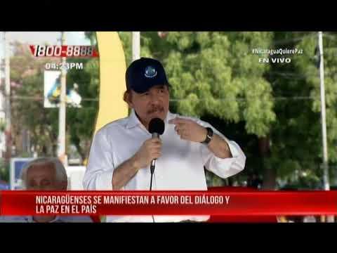 Discurso del presidente Daniel Ortega conmemorando el 1° de mayo