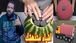 شاهد هذا الرجل ماذا يفعل !10 Amażing Watermelon LifeHacks!!