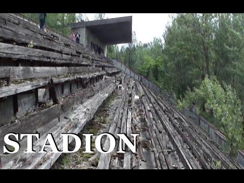 Prypeć - Stadion /exploring/ Pripyat - stadion