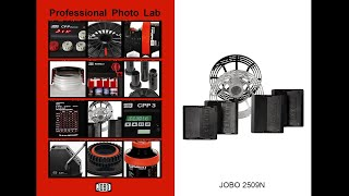 JOBO 2509N Spirale und 2508 Planfilmlader
