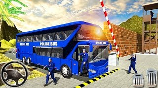 Police Bus Driving Simulator Off Road Transport Duty - Android GamePlay screenshot 5