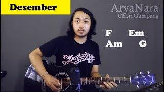 Download Mp3 Chord Gampang  Desember - Efek Rumah Kaca  By Arya Nara  Tutorial Gitar  Untuk P